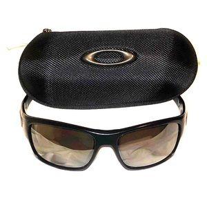 Oakley Turbine Black Rx Sunglasses with case